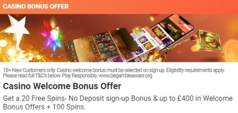 leovegas casino welcome offer