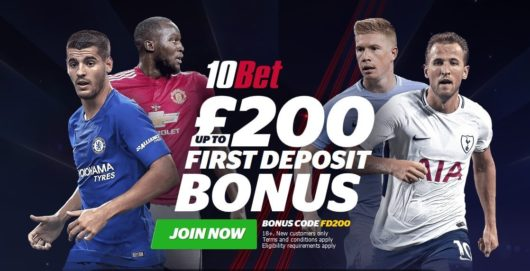 10Bet Welcome Offer Image