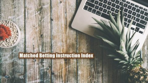 GEM, Matched Betting Guide, Index
