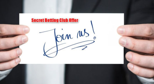 Secret Betting Club Offer, Feature Image