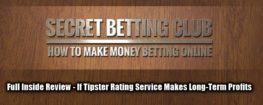 Secret Betting Club Review, Main Image