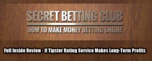 Secret Betting Club Review, Main Image