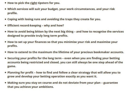 Secret Betting Club Review, Rowan Benefit