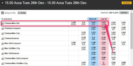 enhanced accumulators, betfair double