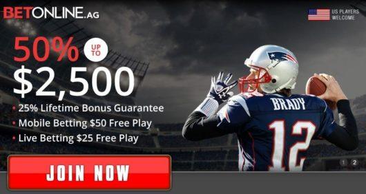 Betonline Sign Up Bonus