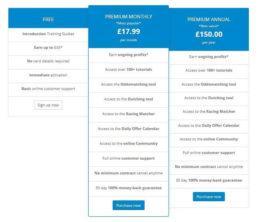 oddsmonkey review, new price list
