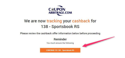 betting cashback, coupon arbitrage go to bookmaker