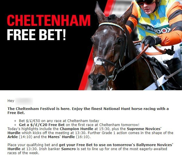 cheltenham betting, betstar exclusive offer