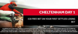 cheltenham betting, genting offer