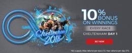 cheltenham betting, matchbook 10% boost offer