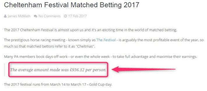 cheltenham betting, pa results