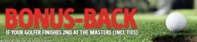 betting golf majors, 138bet offer