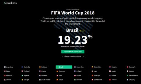 smarkets world cup offer 2018