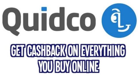 quidco cashback bonus