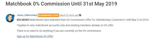 oddsmonkey matchbook zero commission instruction