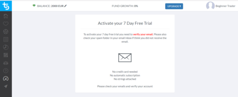 trademate sports free trial