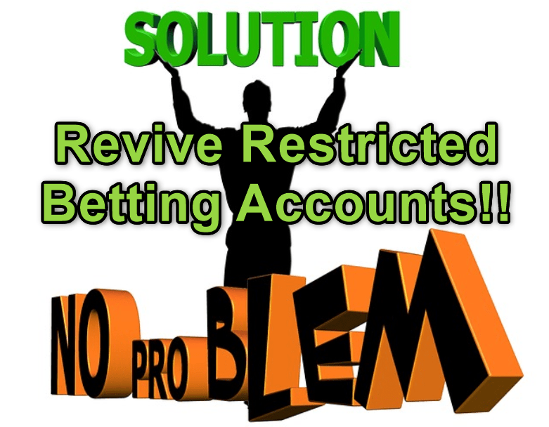 revive restricted betting account