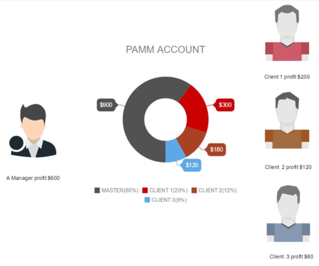 PAMM account structure 2nd explanation image