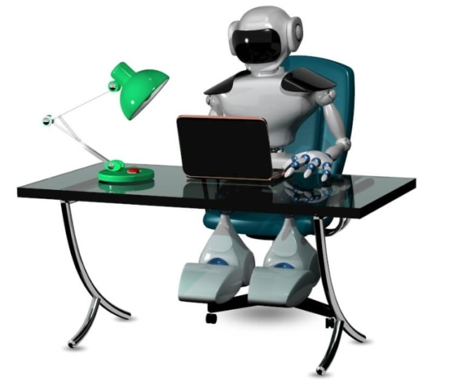 Trading Robot Desk Work