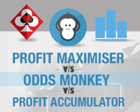 Profit Maximiser vs Profit Accumulator vs Oddsmonkey