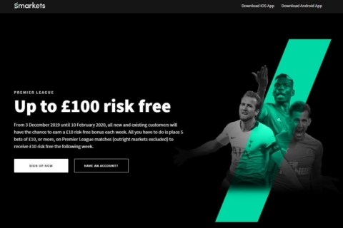 Smarkets EPL Risk Free Offer