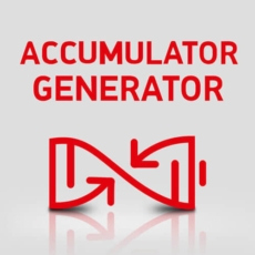 mike cruickshank accumulator generator logo