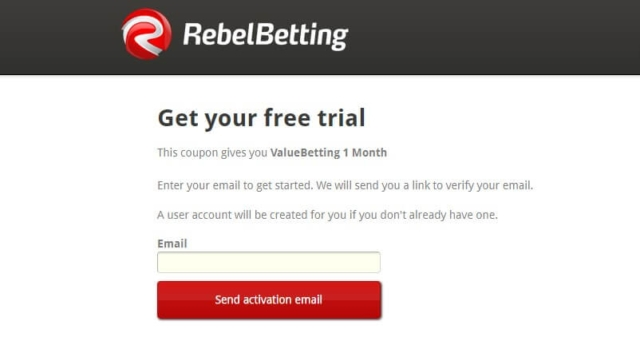rebelbetting ome month free coupon