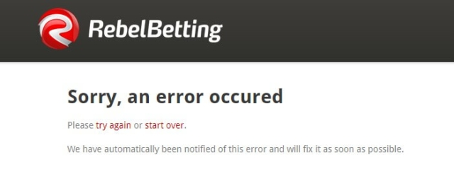 rebelbetting value bet coupon error