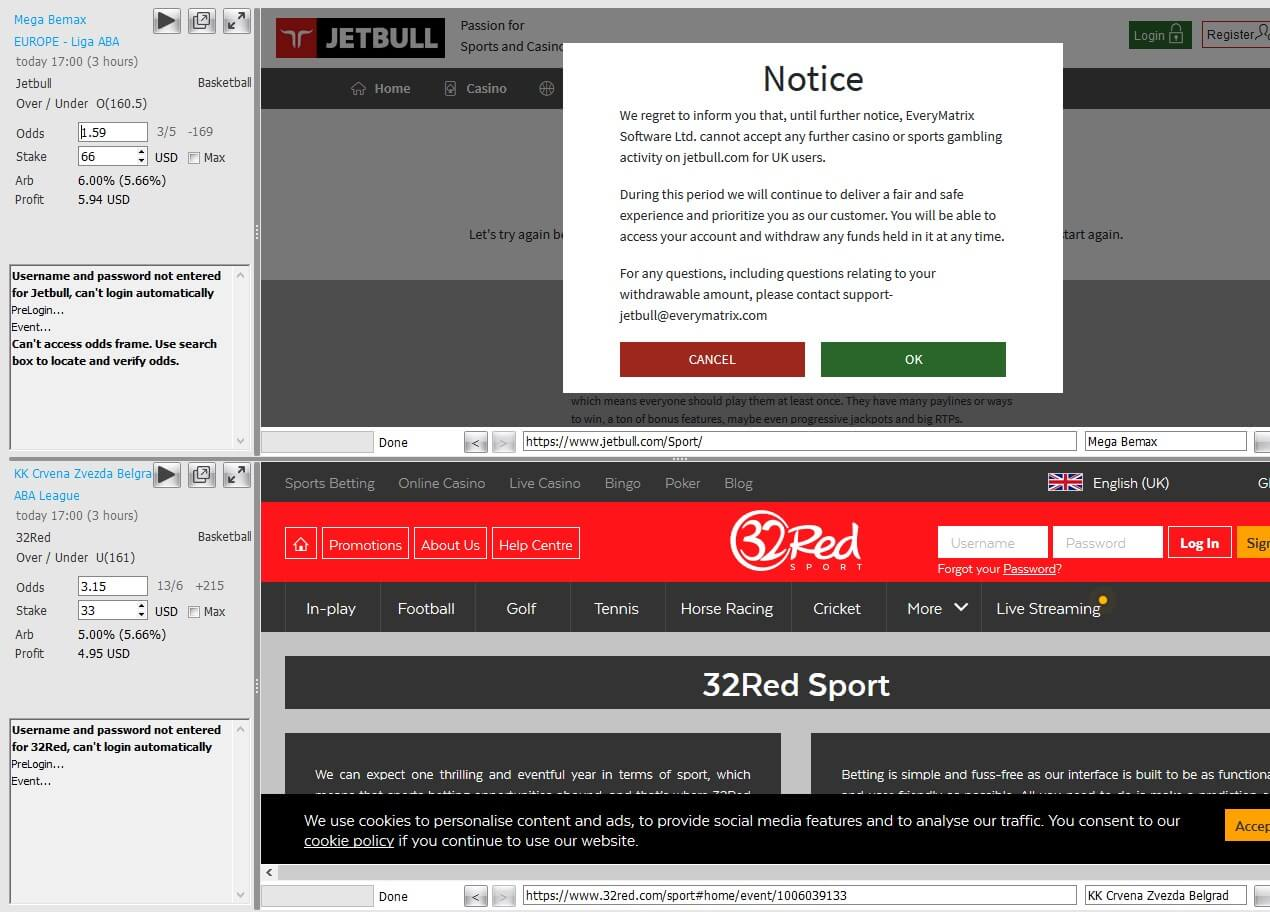 rebelbetting autosurf bookies log-in screenshot sports