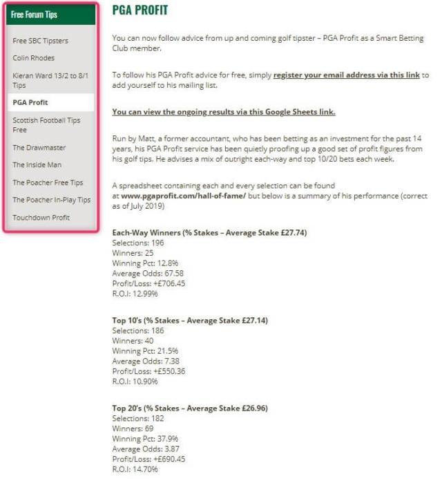 sbc free tips
