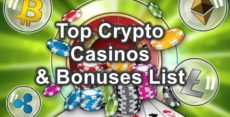 best crypto casinos and offers list feature image