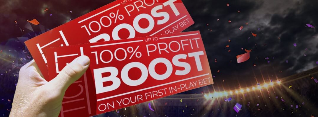 32red 100% boost welcome offer