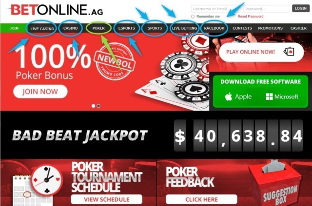 Betonline all in one betting site