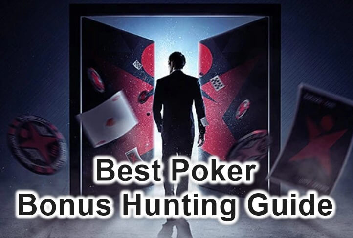 best poker bonus hunting guide feature image