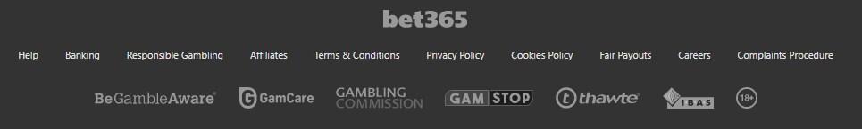 bet365 casino no ecogra seal