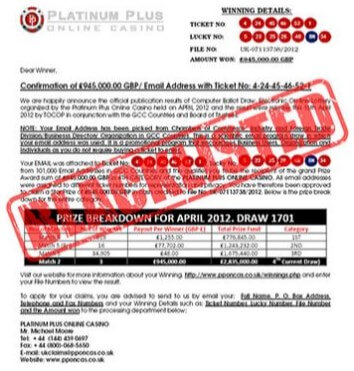 online casino scam example article