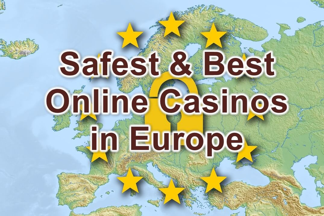 safest and best online casinos in europe feature image