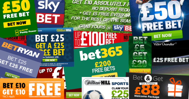 free bets offers images