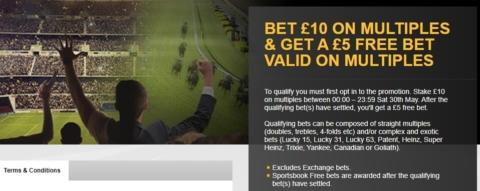 betfair sportsbook double offer