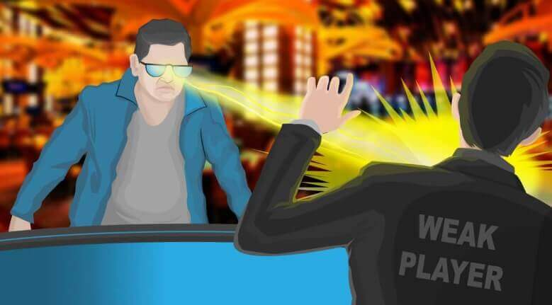 poker grinder spot weak player