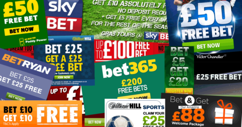 bookmaker free bets offers images