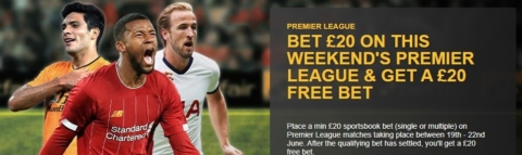 betfair epl free bet offer