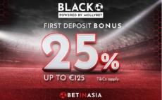 betinasia 25% deposit bonus