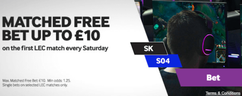 betway esports offer