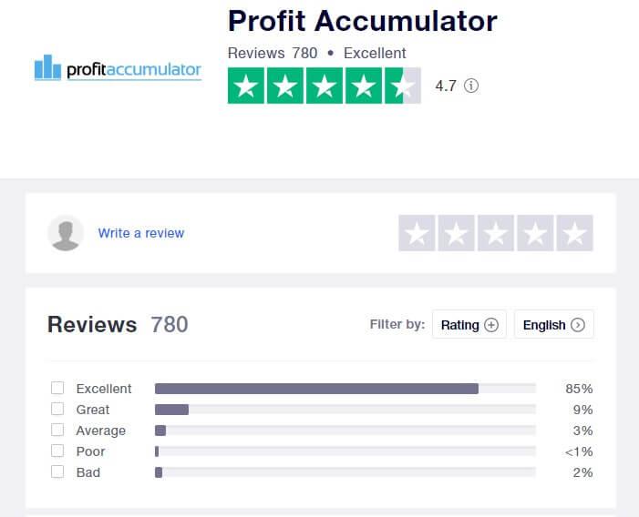 profit accumulator trustpilot