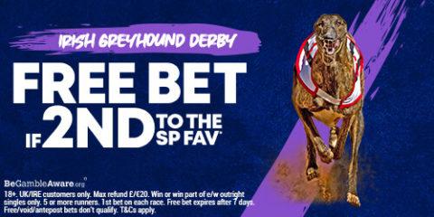 boylesports greyhound 2nd to sp refund