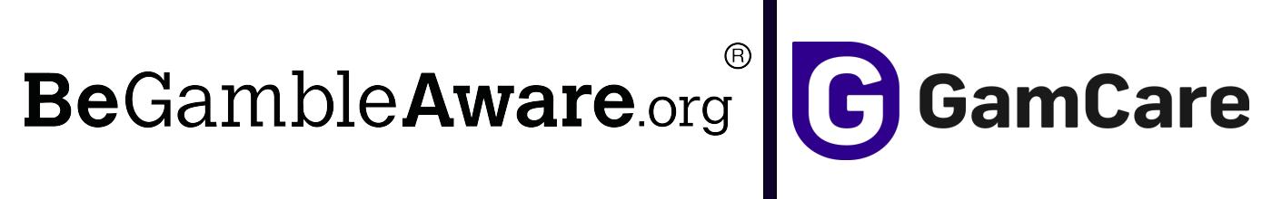 BeGambleAware, GAMCARE logo