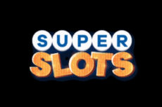 super slots logo black