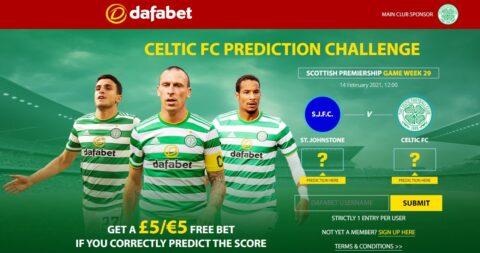dafa bet celtic free prediction