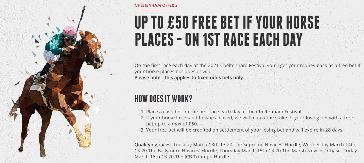 cheltenham second offer